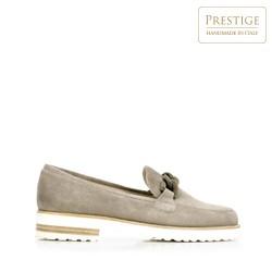 Dámské boty, béžová - stříbrná, 92-D-106-9-39_5, Obrázek 1