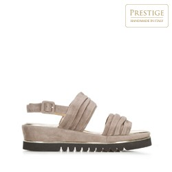 Dámské boty, béžová, 92-D-112-8-36, Obrázek 1