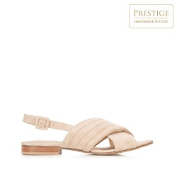Dámské boty, béžová, 92-D-117-9-38_5, Obrázek 1