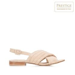 Dámské boty, béžová, 92-D-117-9-41, Obrázek 1