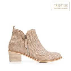 Dámské boty, béžová, 92-D-151-8-37, Obrázek 1