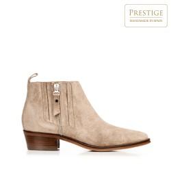 Dámské boty, béžová, 92-D-157-8-38, Obrázek 1