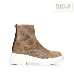 Dámské boty, béžová, 92-D-161-8-41, Obrázek 1