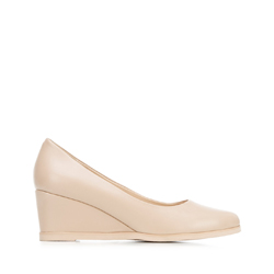 Dámské boty, béžová, 92-D-951-9-40, Obrázek 1
