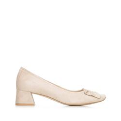 Dámské boty, béžová - stříbrná, 92-D-952-9-40, Obrázek 1