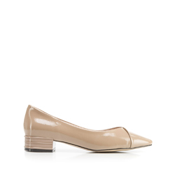 Dámské boty, béžová, 92-D-953-8-40, Obrázek 1