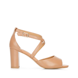 Dámské boty, béžová, 92-D-956-5-40, Obrázek 1