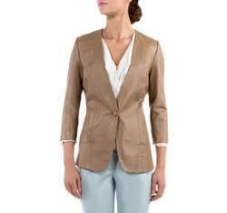 Dámské sako, béžová, 80-09-908-9-M, Obrázek 1
