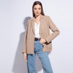 Dámské sako, béžová, 86-9W-107-9-L, Obrázek 1