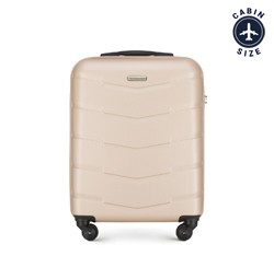Kabinové zavazadlo, béžová, 56-3A-401-86, Obrázek 1