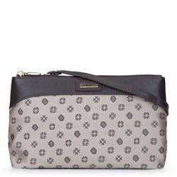 Dámská kabelka, béžová - stříbrná, 93-4-250-9, Obrázek 1