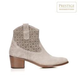 Dámské boty, béžová, 92-D-052-9-38, Obrázek 1