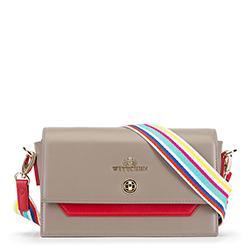 Dámská kabelka, béžově červená, 90-4E-358-8, Obrázek 1