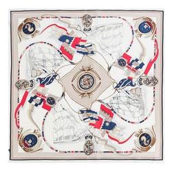 Dámský šátek, béžově červená, 89-7D-S14-X18, Obrázek 1