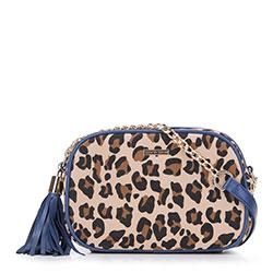 Dámská kabelka, béžově - modrá, 89-4Y-301-X3, Obrázek 1