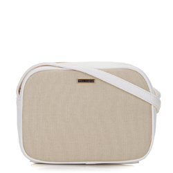 Dámská kabelka, béžovo-bílá, 92-4Y-300-0, Obrázek 1