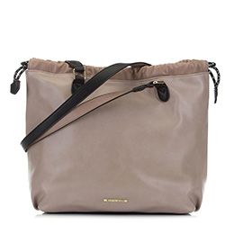 Nákupní taška, béžovo-černá, 90-4Y-711-9, Obrázek 1