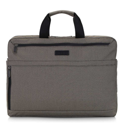 Taška na notebook, béžovo-černá, 92-3P-101-8, Obrázek 1