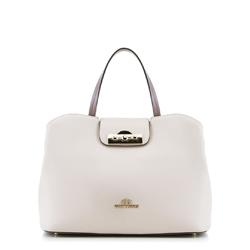 Dámská kabelka, béžovo-fialová, 88-4E-416-9, Obrázek 1