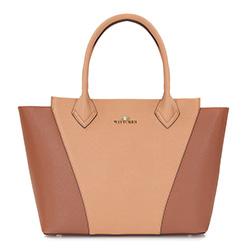 dámská kabelka, béžovo hnědá, 86-4E-428-9, Obrázek 1