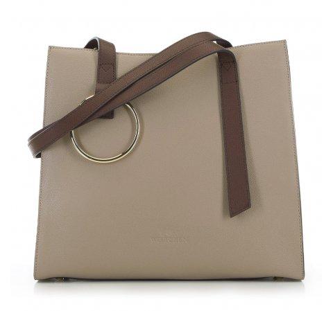 Dámská kabelka, béžovo hnědá, 90-4E-611-7, Obrázek 1