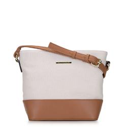 Dámská kabelka, béžovo hnědá, 92-4Y-214-0, Obrázek 1