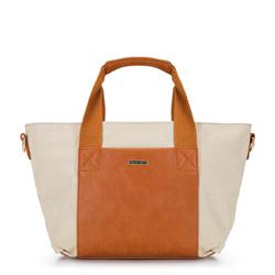 Dámská kabelka, béžovo hnědá, 92-4Y-311-5, Obrázek 1