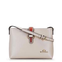 Dámská kabelka, béžovo-oranžová, 92-4E-610-00, Obrázek 1