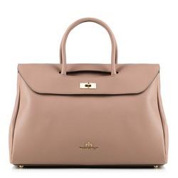 dámská kabelka, béžovo-růžová, 87-4E-419-9, Obrázek 1