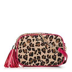 Dámská kabelka, béžovo-růžová, 89-4Y-301-X2, Obrázek 1