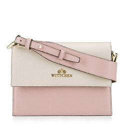 Dámská kabelka, béžovo-růžová, 92-4E-621-P, Obrázek 1