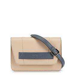 Dámská kabelka, béžovo-šedá, 90-4E-365-9, Obrázek 1