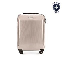 Kabinový cestovní kufr, béžovo-šedá, 56-3P-871-80, Obrázek 1