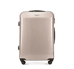 Střední cestovní kufr, béžovo-šedá, 56-3P-872-80, Obrázek 1