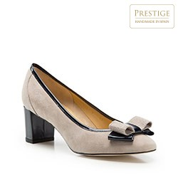 Dámské boty, béžovo-tmavěmodrá, 86-D-114-9-36, Obrázek 1