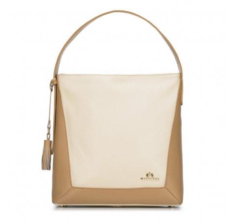 Női táska, bézs-barna, 88-4E-212-1, Fénykép 1