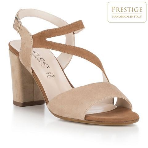 Női cipő, bézs-barna, 88-D-404-9-39, Fénykép 1