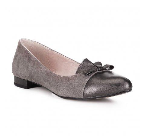 Női cipő, bézs-barna, 88-D-961-8-36, Fénykép 1