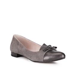 Női cipő, bézs-barna, 88-D-961-8-39, Fénykép 1