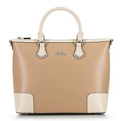 Bevásárló táska, bézs, 90-4E-610-9, Fénykép 1