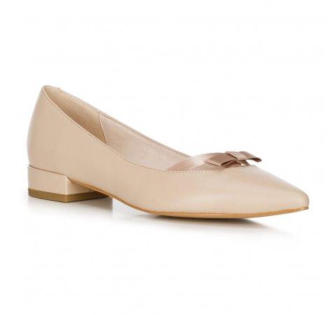 Női balerina cipő, bézs, 90-D-966-9-36, Fénykép 1