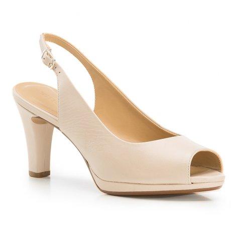 Női cipő, bézs, 86-D-705-1-37, Fénykép 1