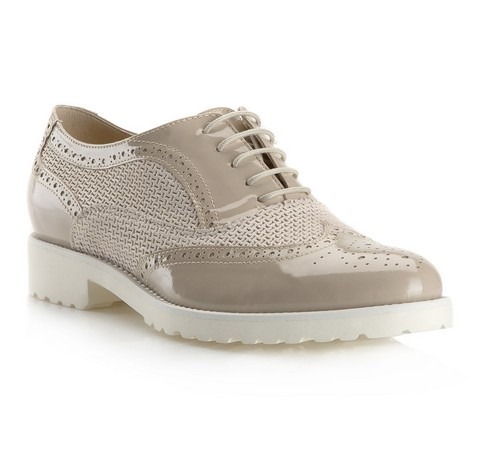 Női cipő, bézs, 80-D-122-9-38, Fénykép 1