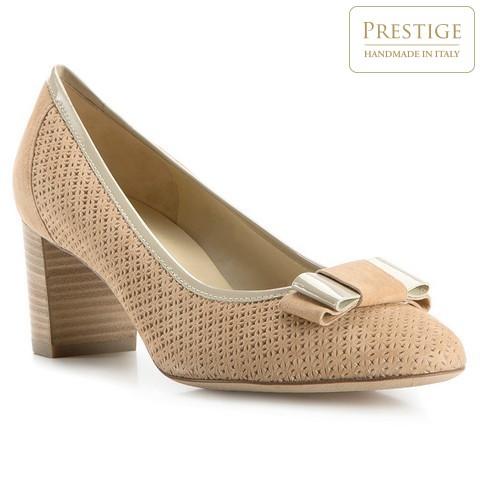 Női cipő, bézs, 82-D-106-9-37, Fénykép 1