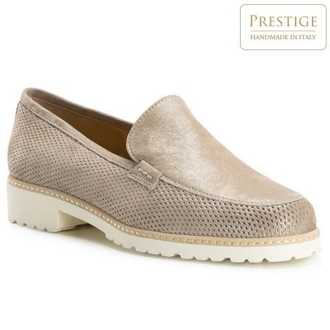 Női cipő, bézs, 82-D-116-9-36, Fénykép 1