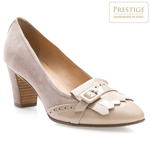 Női cipő, bézs, 84-D-103-9-35, Fénykép 1