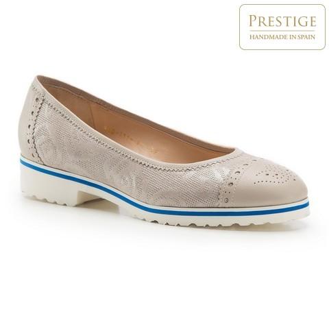 Női cipő, bézs, 86-D-111-9-35, Fénykép 1