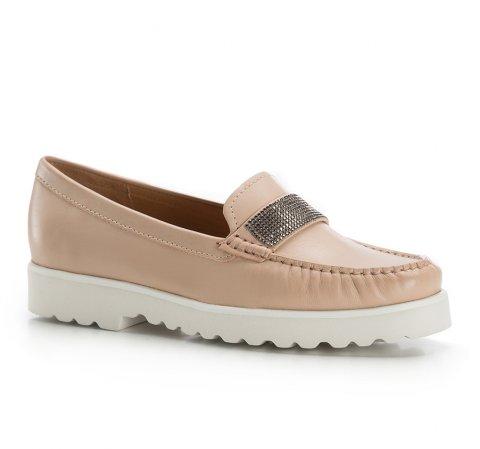 Női cipő, bézs, 86-D-700-9-40, Fénykép 1