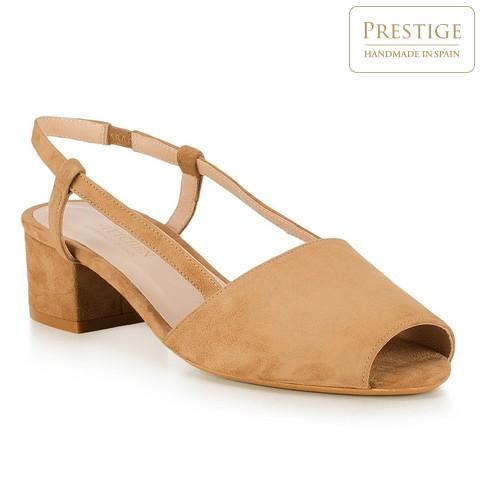 Női cipő, bézs, 88-D-152-9-37, Fénykép 1