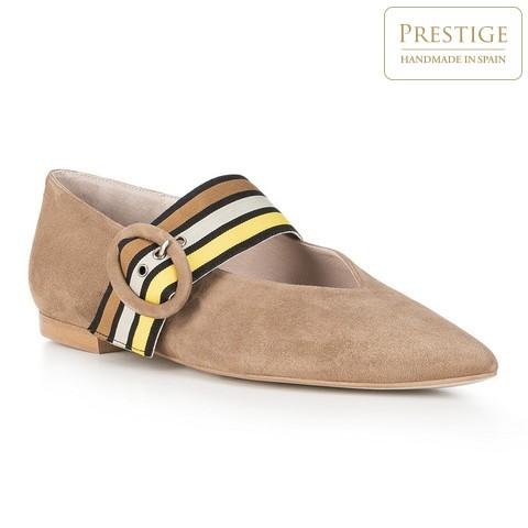 Női cipő, bézs, 88-D-153-9-39, Fénykép 1